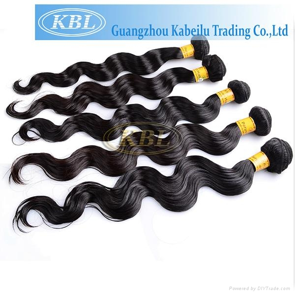 KBL Wholesale Hair Extensions, 100% Peruvian Virgin Human Hair Natural Color 2