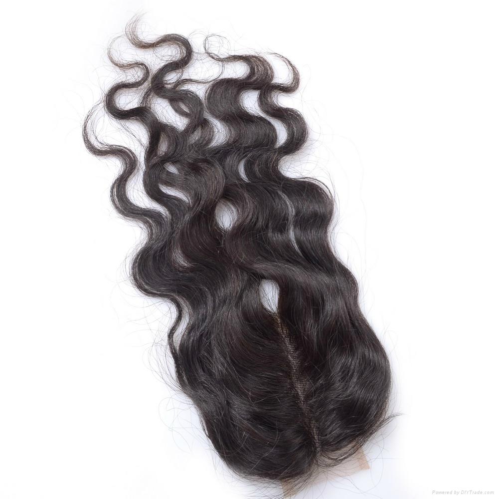 KBL Brazilian Virgin Human Hair Lace Top Closures 4*2.5  2