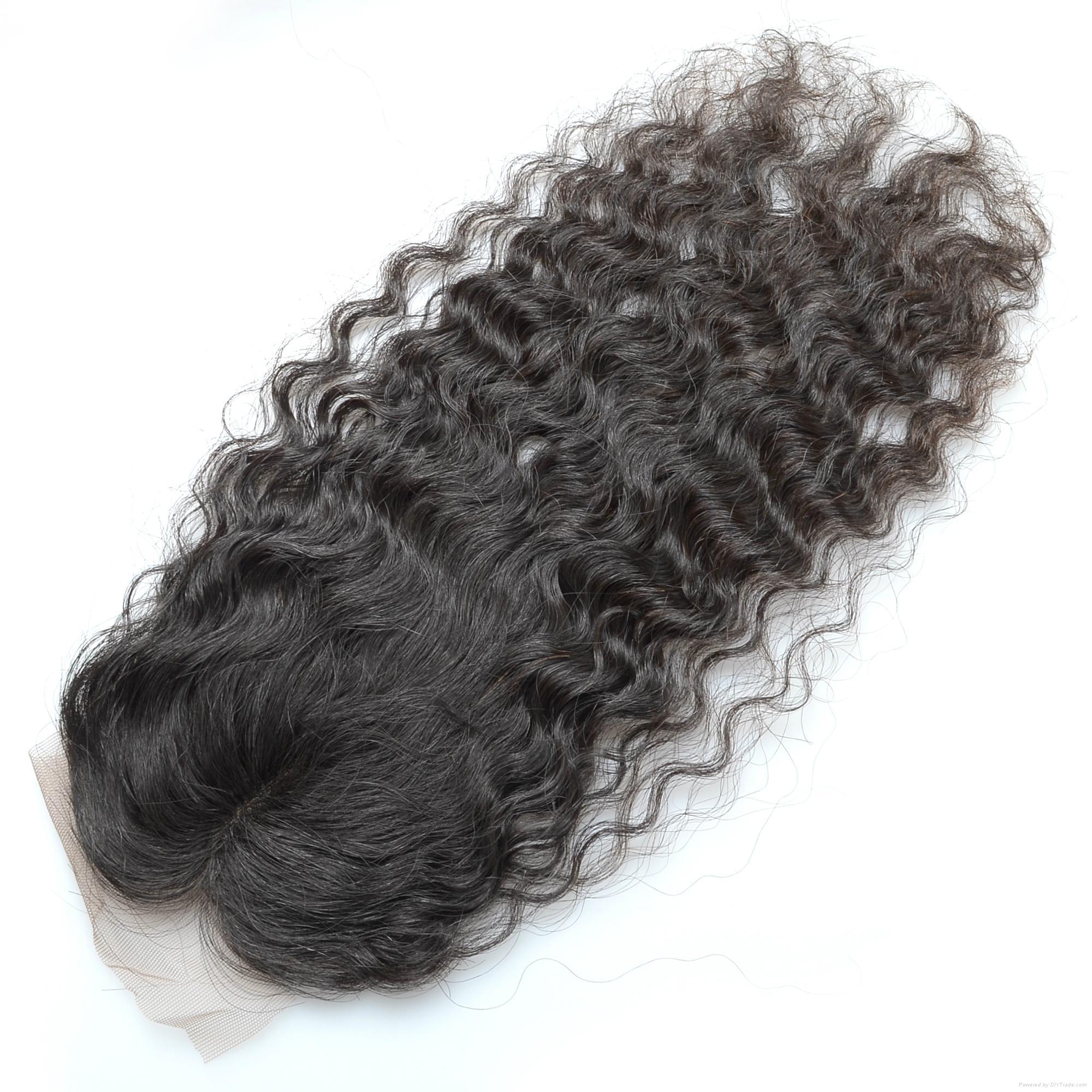 KBL Brazilian Virgin Human Hair Lace Top Closures 4*2.5  3