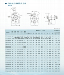Sam Ball screw For CNC Router Machine
