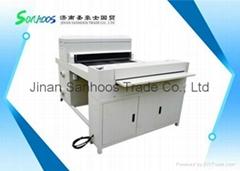 Automatic 650 uv varnish coating machine