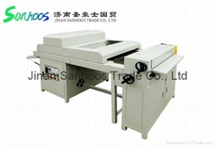 650 UV coating machine , digital prints uv varnish laminator