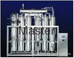Distill water machine