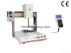 Y&D7000R四轴全自动点胶机