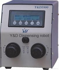 Y&D2800高精密点胶机