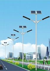 Solar Power LED Street Light All in one 12v 24v DC Power 30w 60w