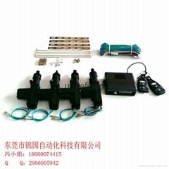 Remote central locking