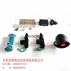 Europe, Middle East, central locking with remote control outlet central locking