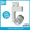 LED track light 30w CREE COB Ra>90