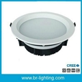 36W LED downlight with frosted diffuser