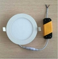 LED round slim panel light