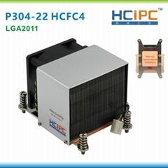 HCiPC P304-22 HCFC4,LGA2011 2U Server Cooler,CPU Cooler