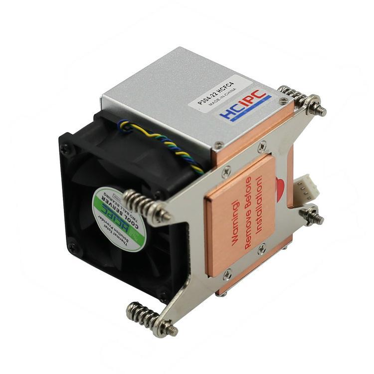 HCiPC P304-22 HCFC4,LGA2011 2U Server Cooler,CPU Cooler 3
