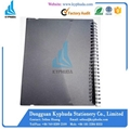 Hard plastic cover spiral notebook 3
