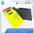 Form pp folding plastic clip folder