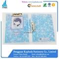 Cute A4 size plastic file clip folder