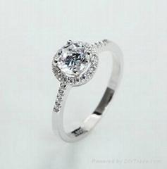 Fashion Luxury Lady CZ Ring for Wedding or Anniversary