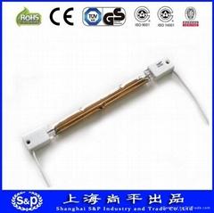 custom-ordered heating tube, factory manufacture coated heater, Carbon fiber hea
