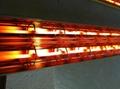 quartz glass infrared heater lamp tube