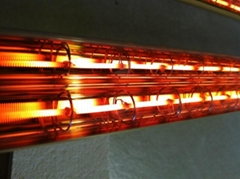 quartz glass infrared heater lamp tube