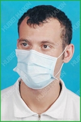 Disposable non woven 3 ply face mask wholesale