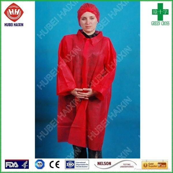 Disposable non woven SMS isolation gown wholesale 1