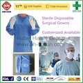 Disposable non woven SMS isolation gown wholesale 5