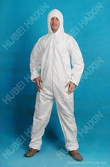 Microporous TYPE 5/6 coverall