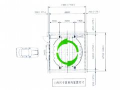 泰安智能PCS型垂直昇降家用停車位立體車庫