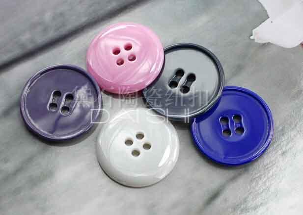 藍色西裝陶瓷紐扣 1