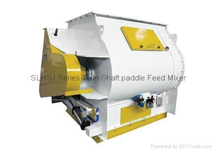 SLHSJ Series Twin-Shaft paddle Feed Mixer - SLHSJ FeedMixer