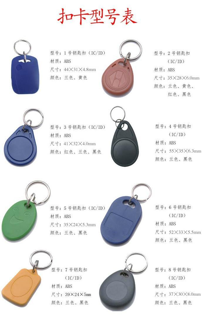 IC钥匙扣卡 4