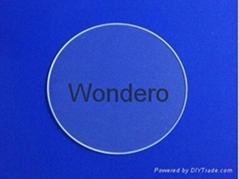 Tempered  borosilicate glass  disc