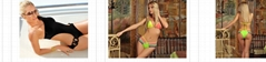 fashion bikini with 2015 polular model designer brand undewear briefs bras sexy