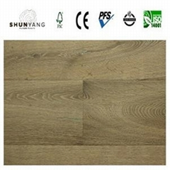 Embossed European Oak Engineered Wood Flooring