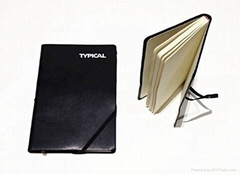Pu leather elastic diary notebook