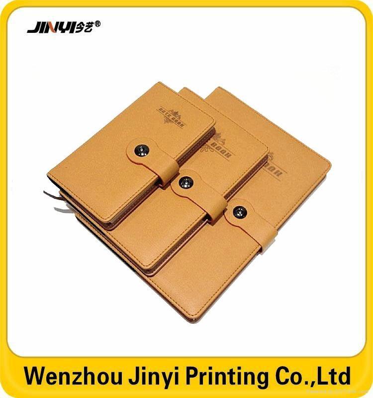 pu paper back school notebook 3