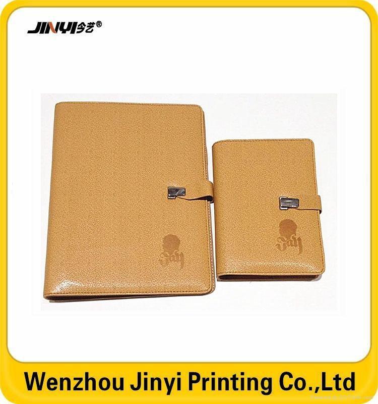 custom printing pu promotional notebook 5