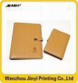 custom printing pu promotional notebook 4