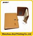 custom printing pu promotional notebook 2