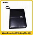 Wholesale cheap leather business portfolio 5