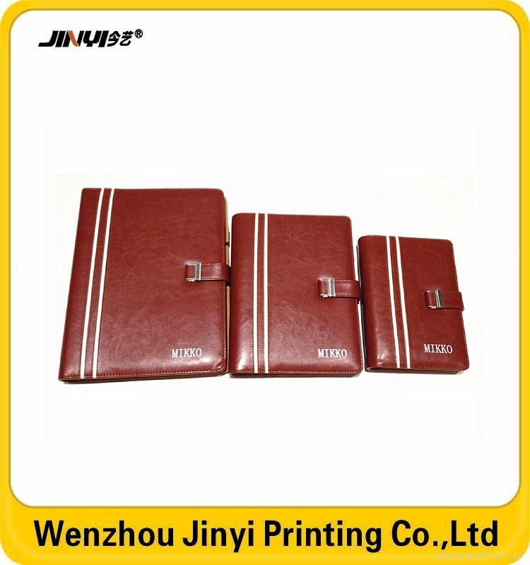 leather business spiral notebook 4