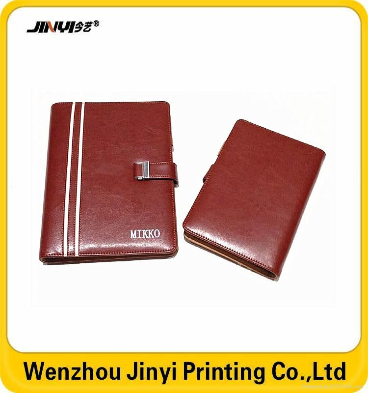 leather business spiral notebook 2