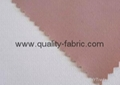 Microfiber peach skin fabric bonded with