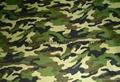 Microfiber camouflage fabric,print