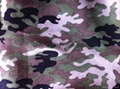 Polyester suede fabric camouflage