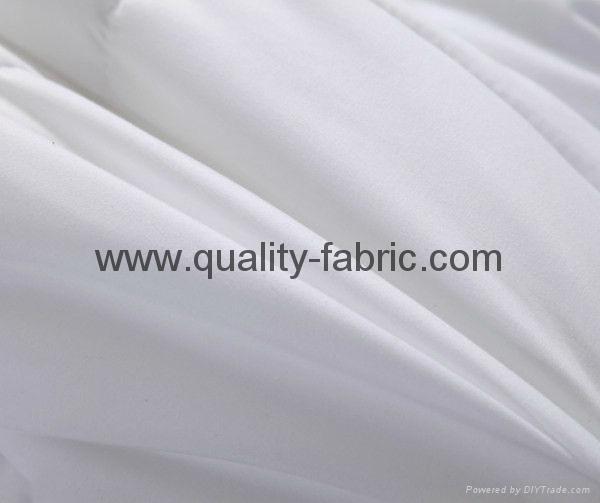 Polyester microfiber fabric 85 gsm optical white Oekotex standard 100 process 1