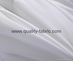 Polyester microfiber fabric 85 gsm optical white Oekotex standard 100 process