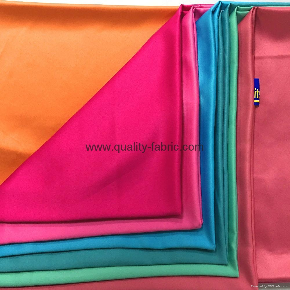 100% Polyester           Dull Satin Fabric for Malaysia 1