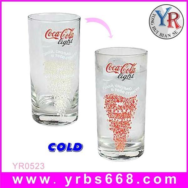 Advertising Usage Color Changing Glass Mugs 1